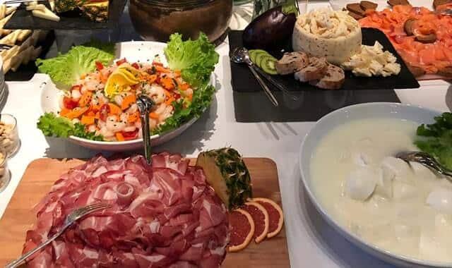 menu Villa Castiglioni Fisogni Tradate